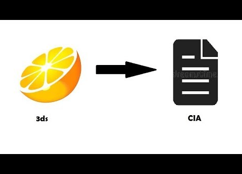 3ds to CIA converter (Download and use ) very easy